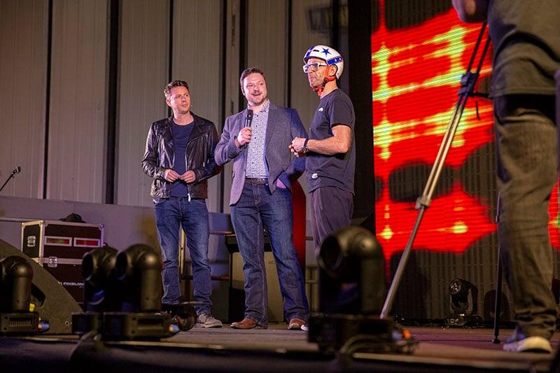 Drone Show 2018 - Main Stage - Jason Bradbury with Matt Williams - 750px