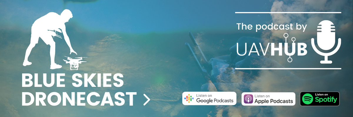 Dronecast Podcast Banner for Email