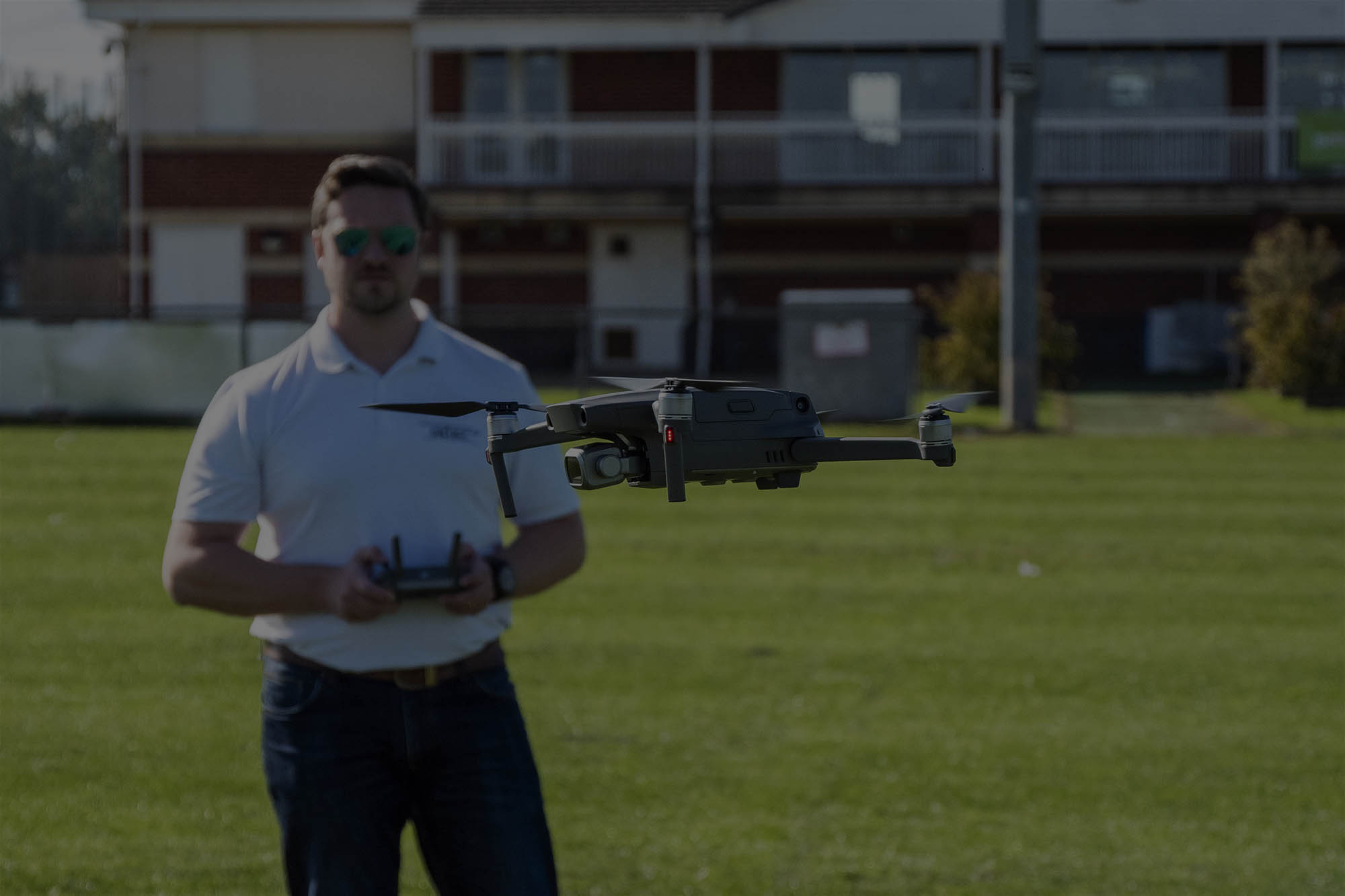 Matt Williams flying the DJI Mavic 2 Pro