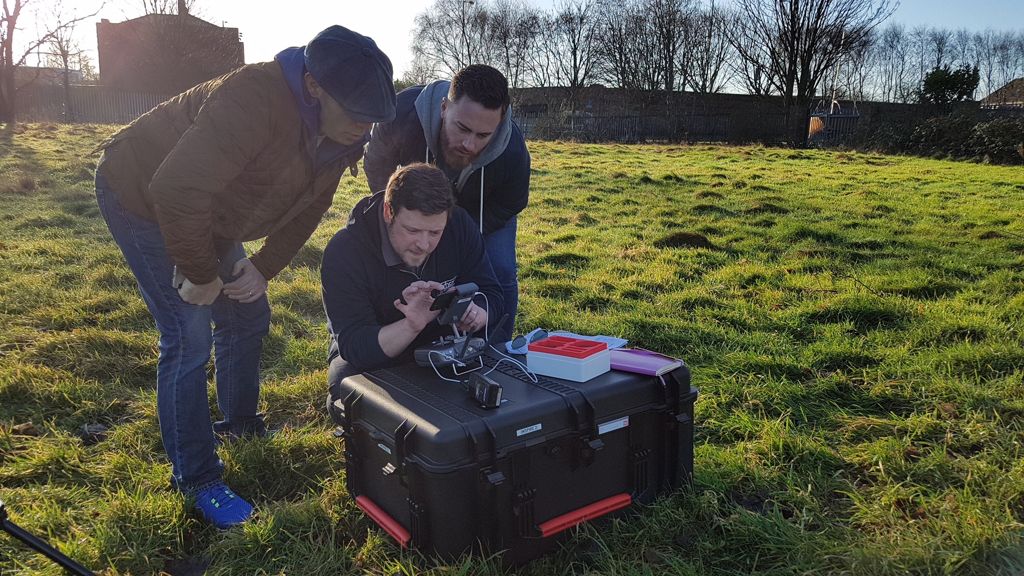 Commercial Operations with a Drone
