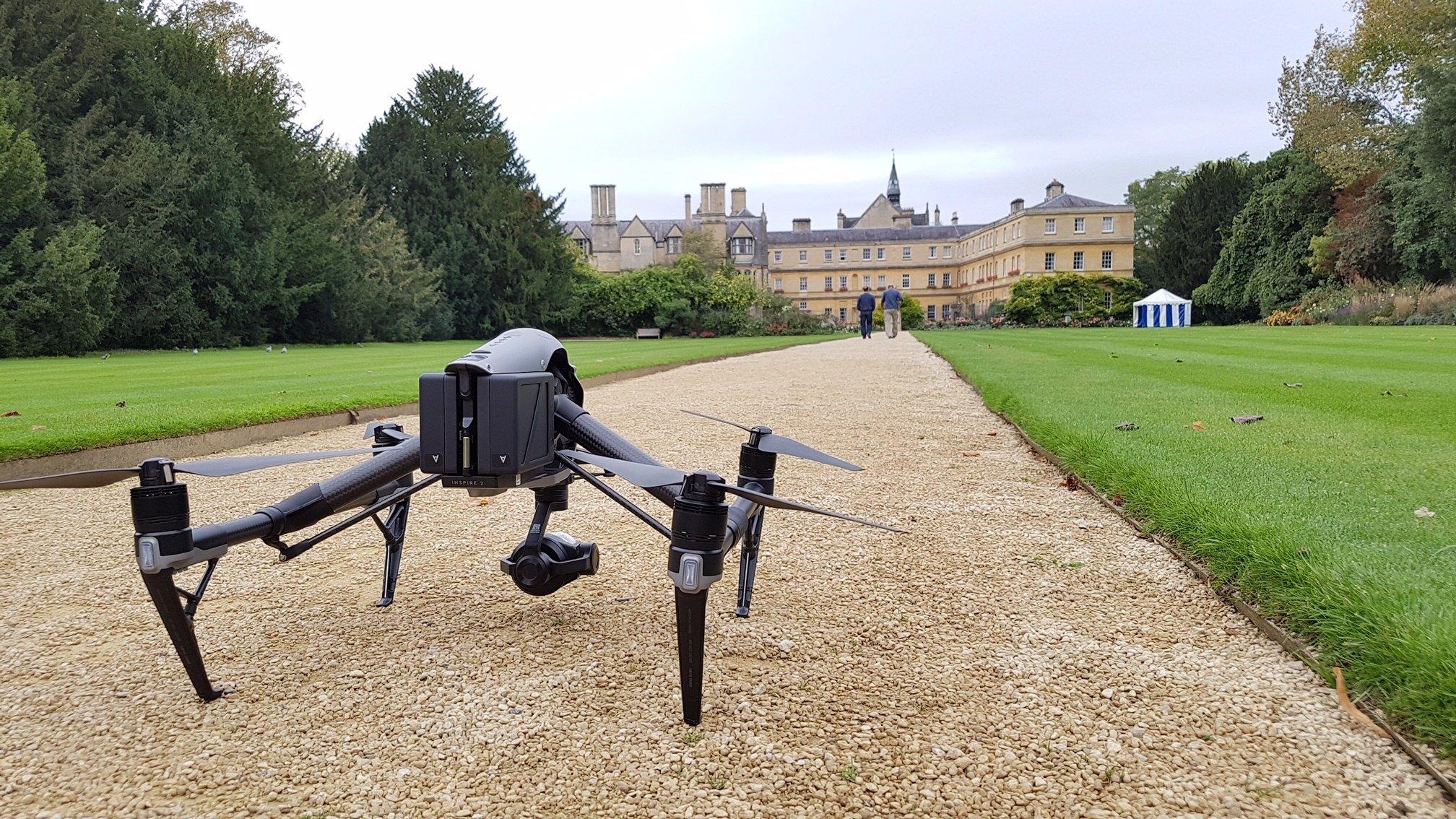 DJI Inspire 2 Drone at Oxford University